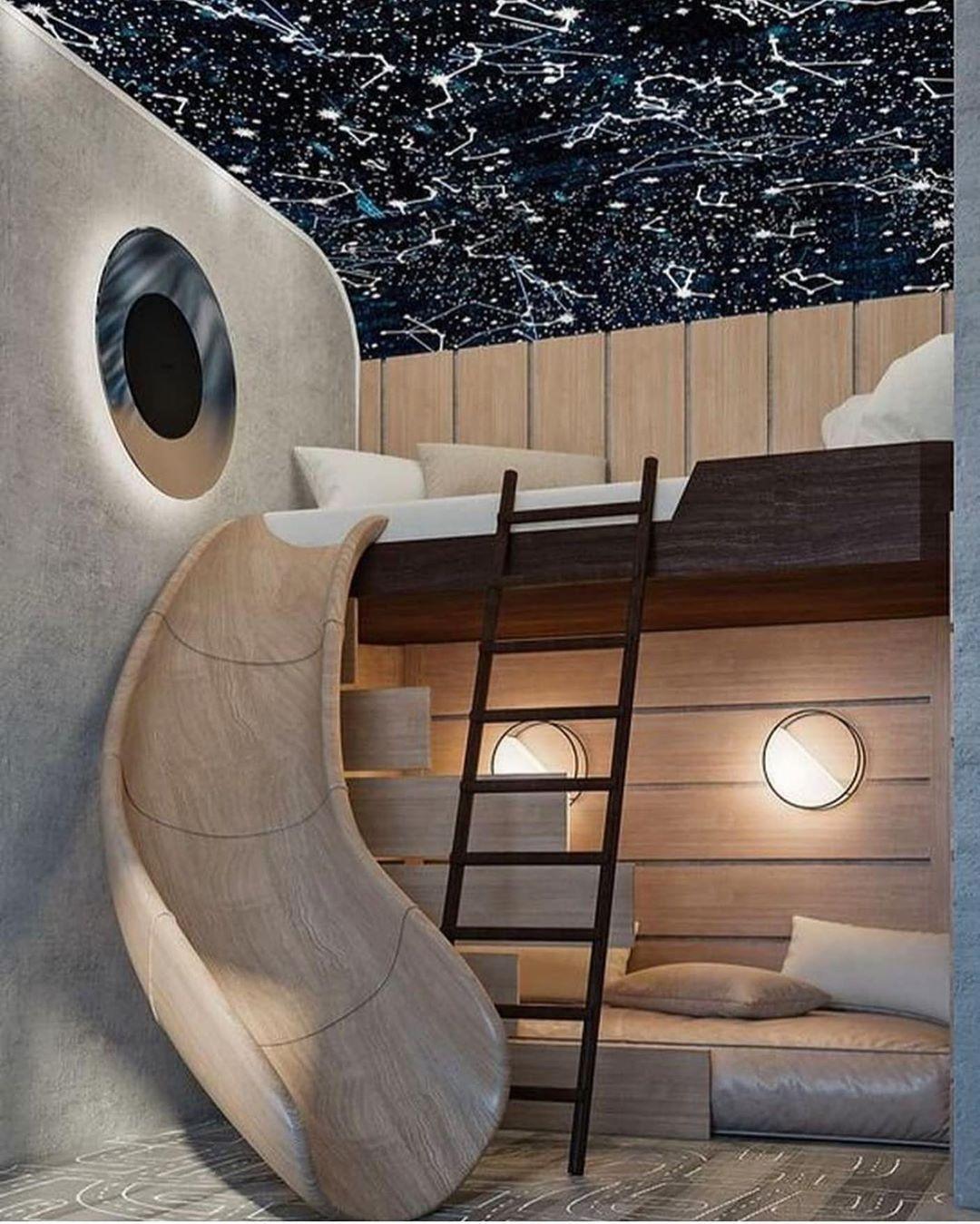 Loving this bunk room to ♾️ and beyond!! . . . Designer unknown. #bunkbed #bunkbeds #bunkroom #kidsroom #kidsbedroom #kidsbedroomdecor #builtinbunks #girlsbedroom #boysbedroom #girlsbedroomdecor #boysbedroomdecor #kidsroom #kidsbedroomdecor #kidsrooms #luxuryhome #luxuryhomes #architecturephotography #architecture #mansion #luxuryhomedesign #homearchitecture #homesweethome  #Regram via @bedrooms_of_insta