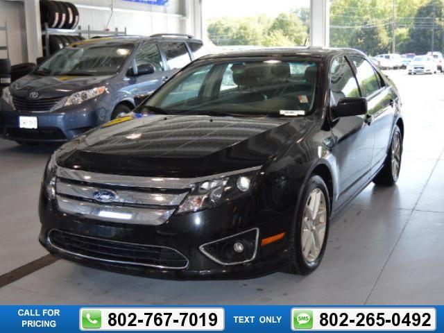 2012 Ford Fusion Sel 74k Miles Black 12 987 74339 Miles 802 767