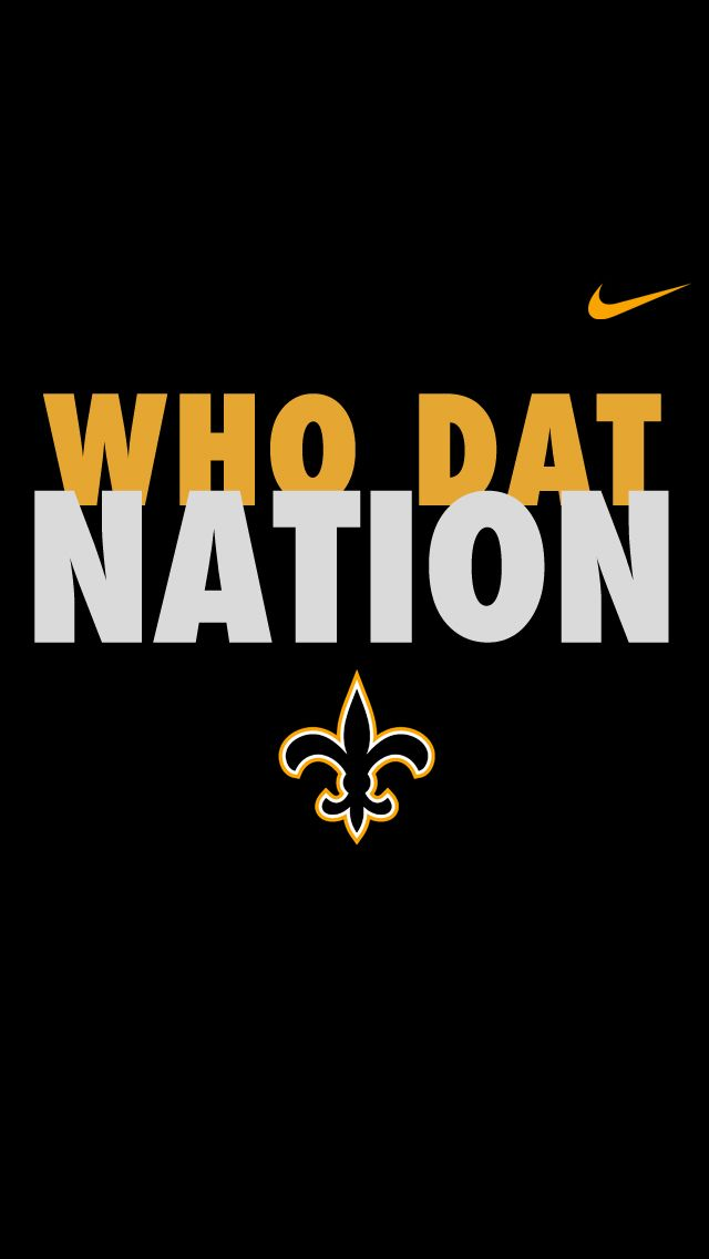Who Dat Nation iPhone 5 Wallpapers