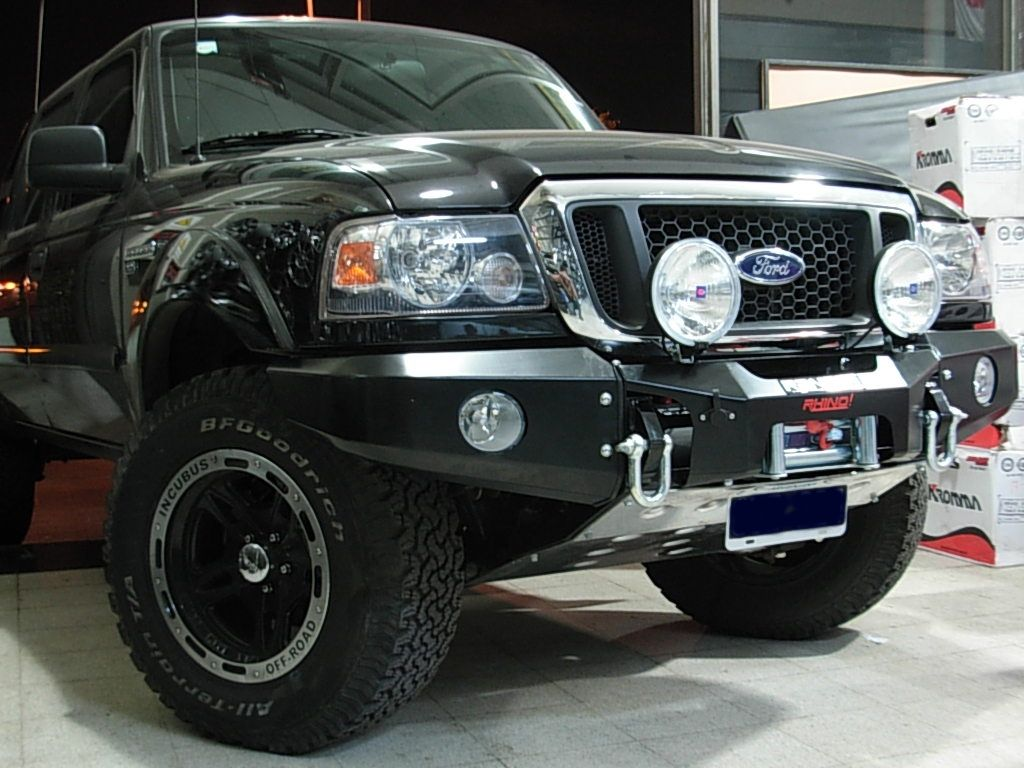 ford ranger bumpers off road new south american winch. Black Bedroom Furniture Sets. Home Design Ideas