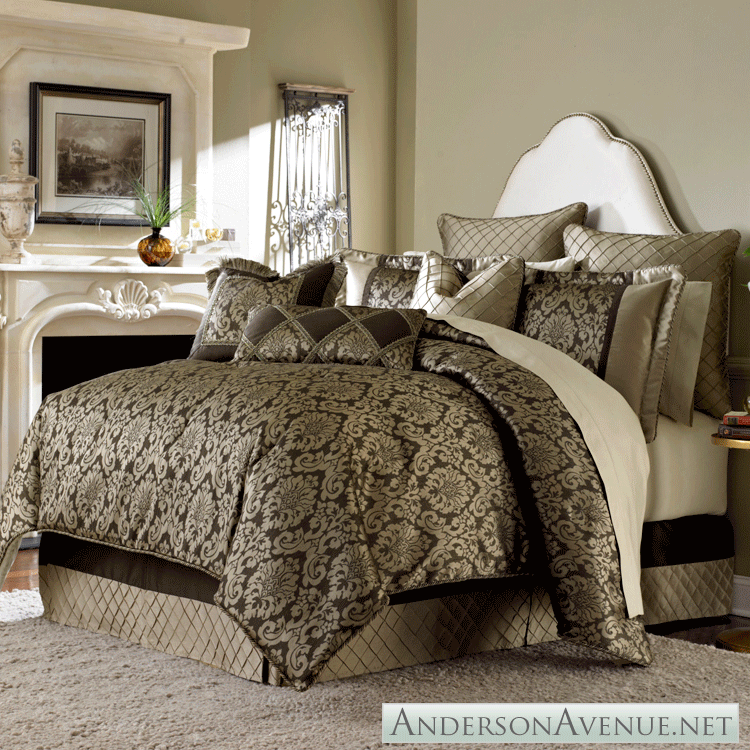 Best Imperial A Michael Amini Bedding Collection Dormitorios 400 x 300