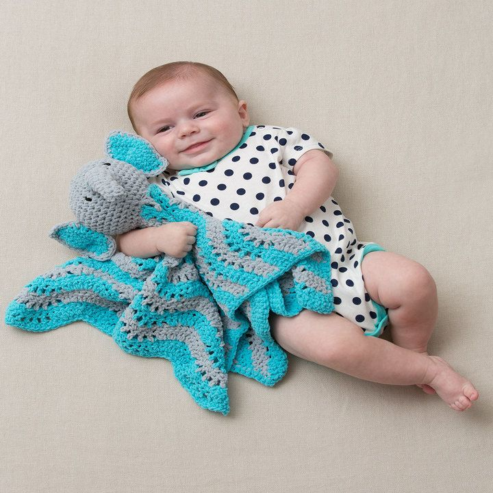 Little Elephant Baby Blanket Crochet Pattern | Baby blanket crochet ...