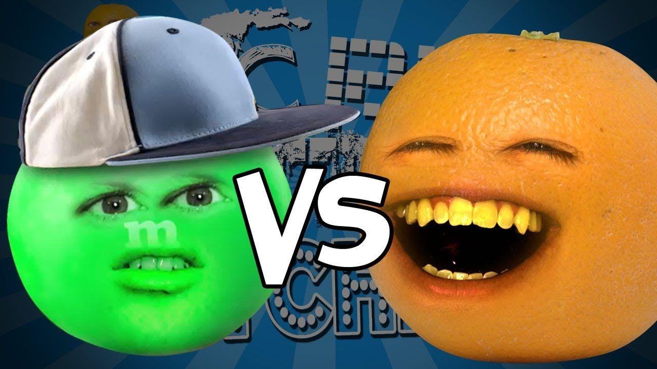 Annoying orange epic rap battles of kitchenry ft