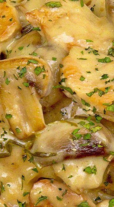 Chicken with Tarragon Cream Sauce