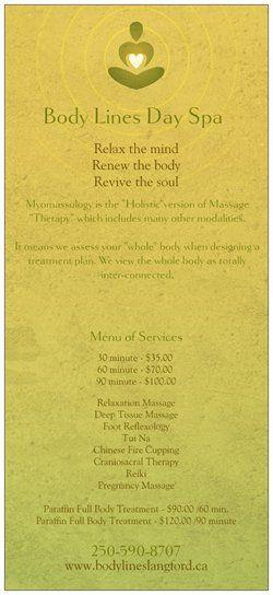 Rack Cards Design From Vistaprint Visit Vistaprintca