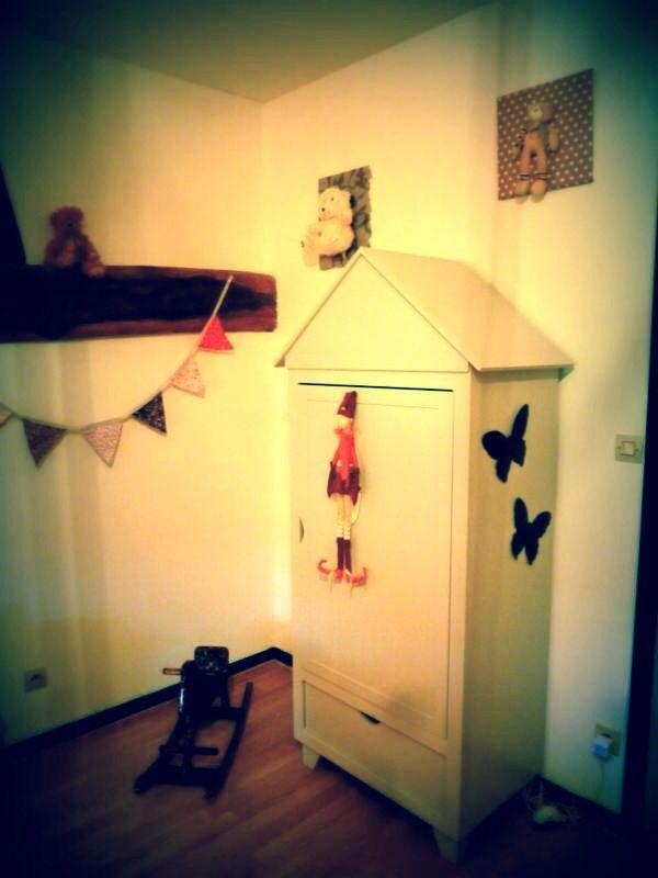 Armoire cabine de plage ( vertbaudet ) | Deco chambre ...