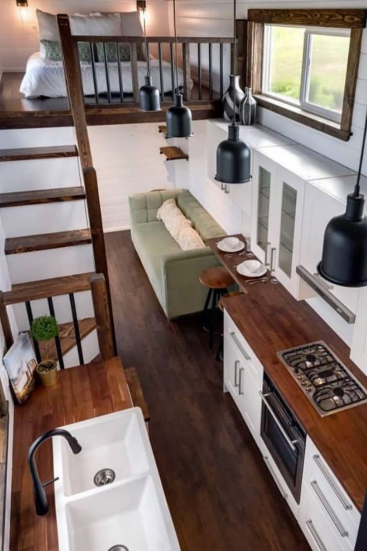 45+ Genius Ideas For Your Tiny House Project #tinyhome