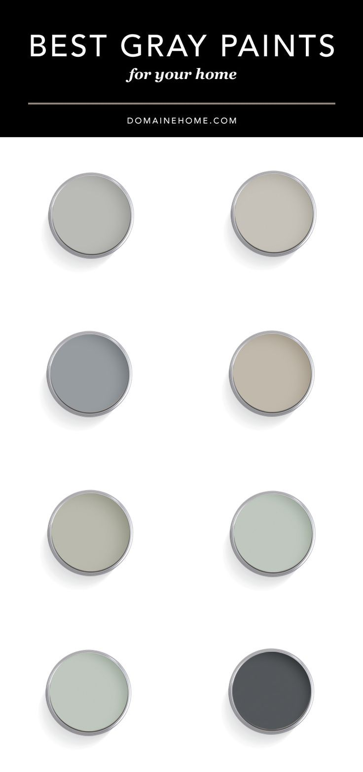 Top Designers Share Their 9 Best Gray Paint Colors Paint