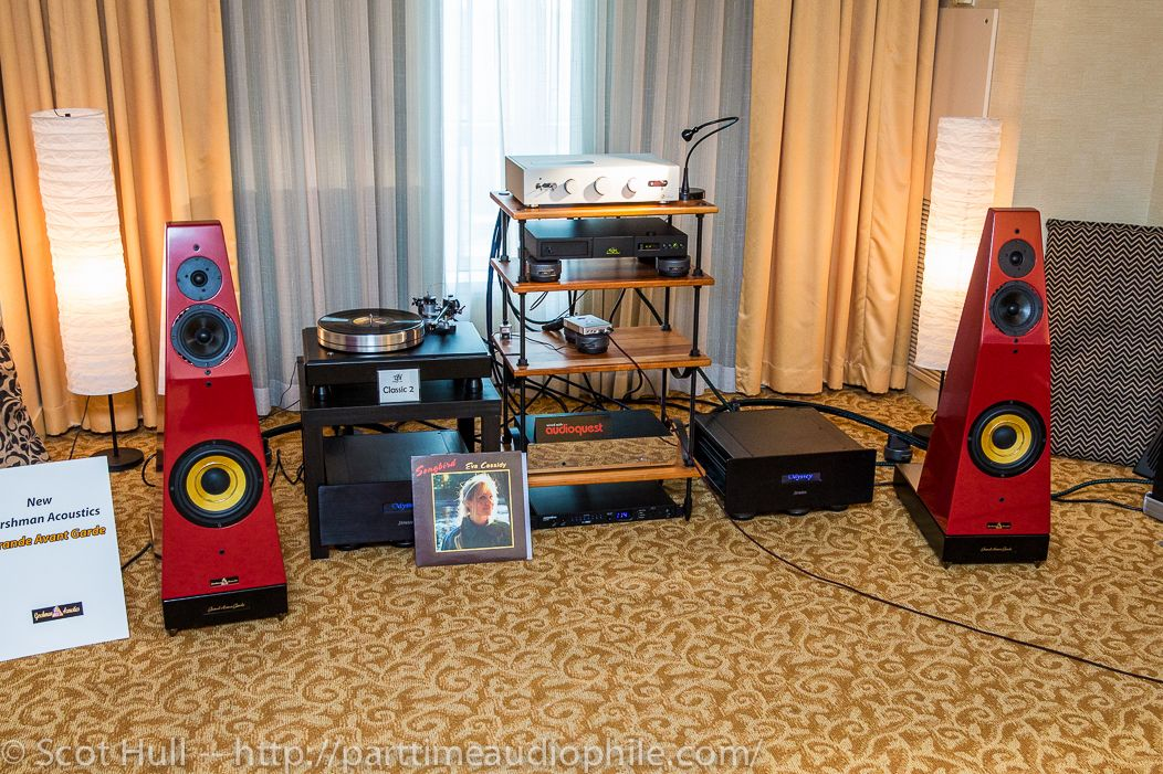New York 2014 Gershman Acoustics fronts Backert and VPI