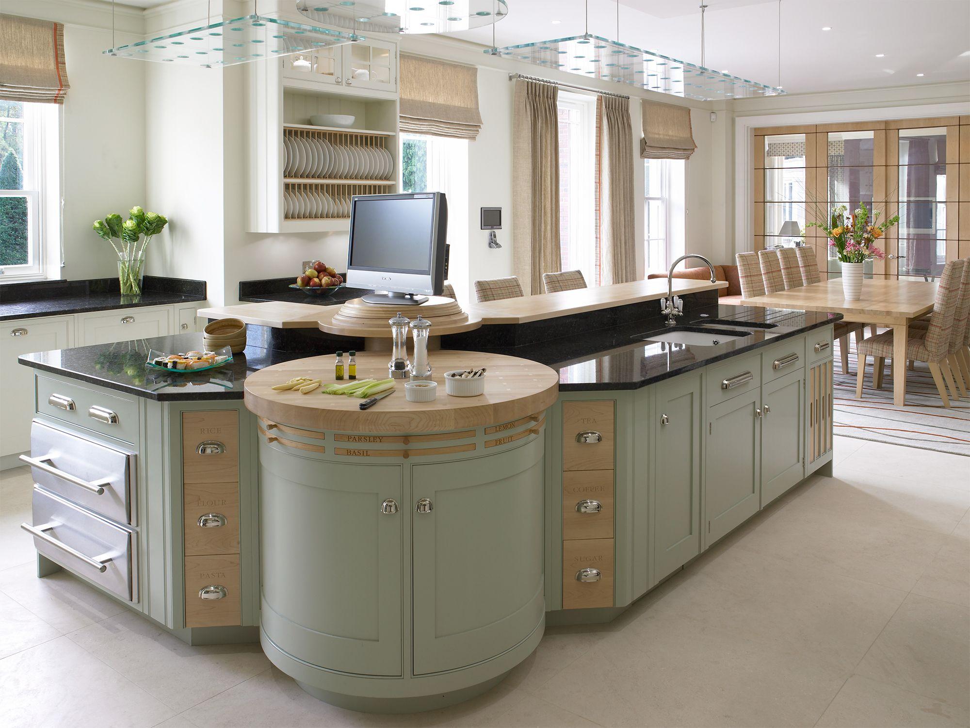 Luxury Bespoke Kitchens - New England Collection | Mark ...