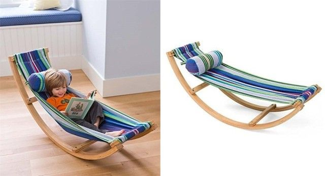 Cozy Rocking Hammock Is A Must For Every Book Reading Nook