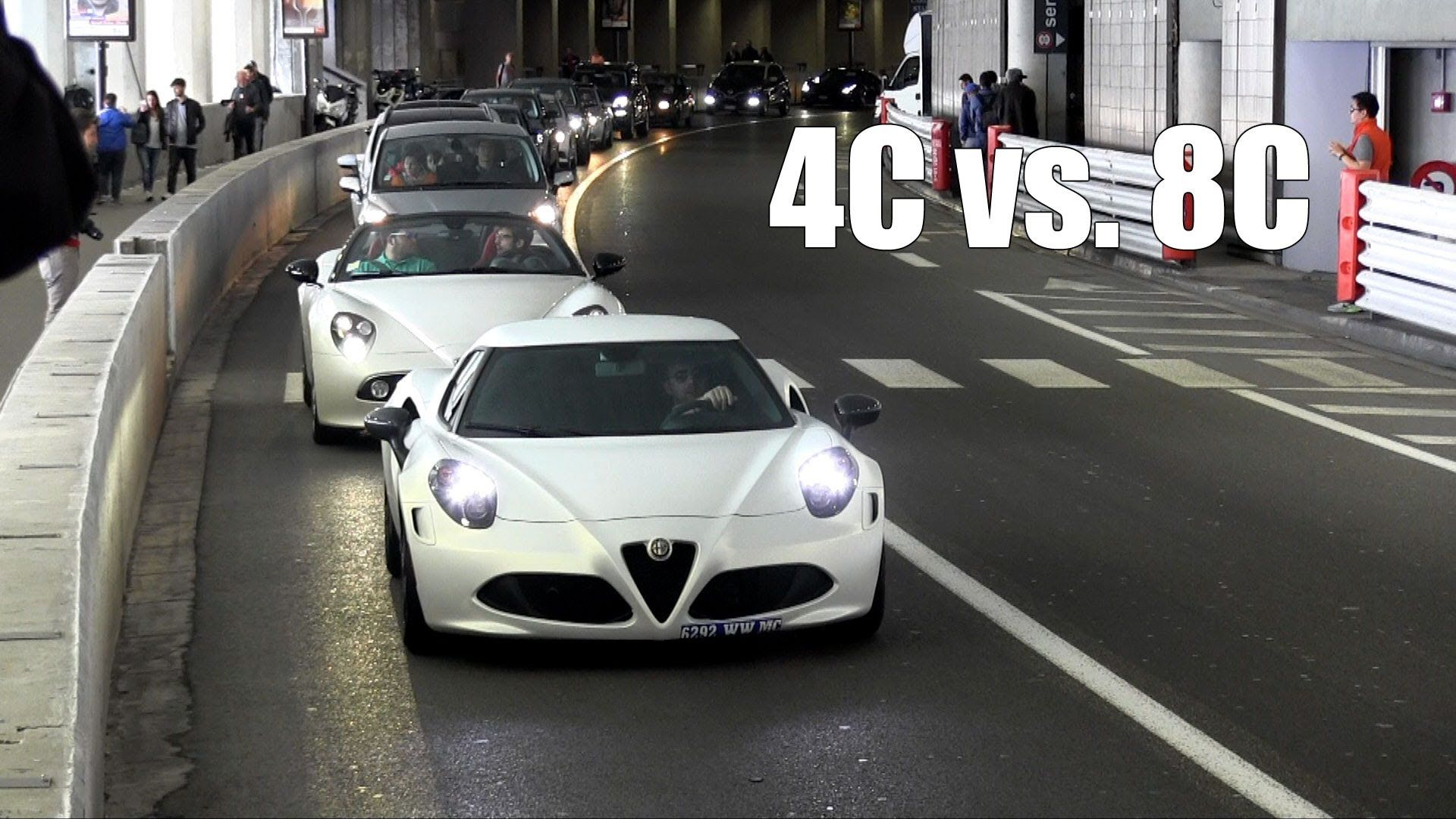 Alfa Romeo 4C in Carrara White Tricoat Matte