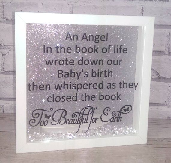 Infant Loss Pregnancy Loss Baby Loss Keepsake Angel