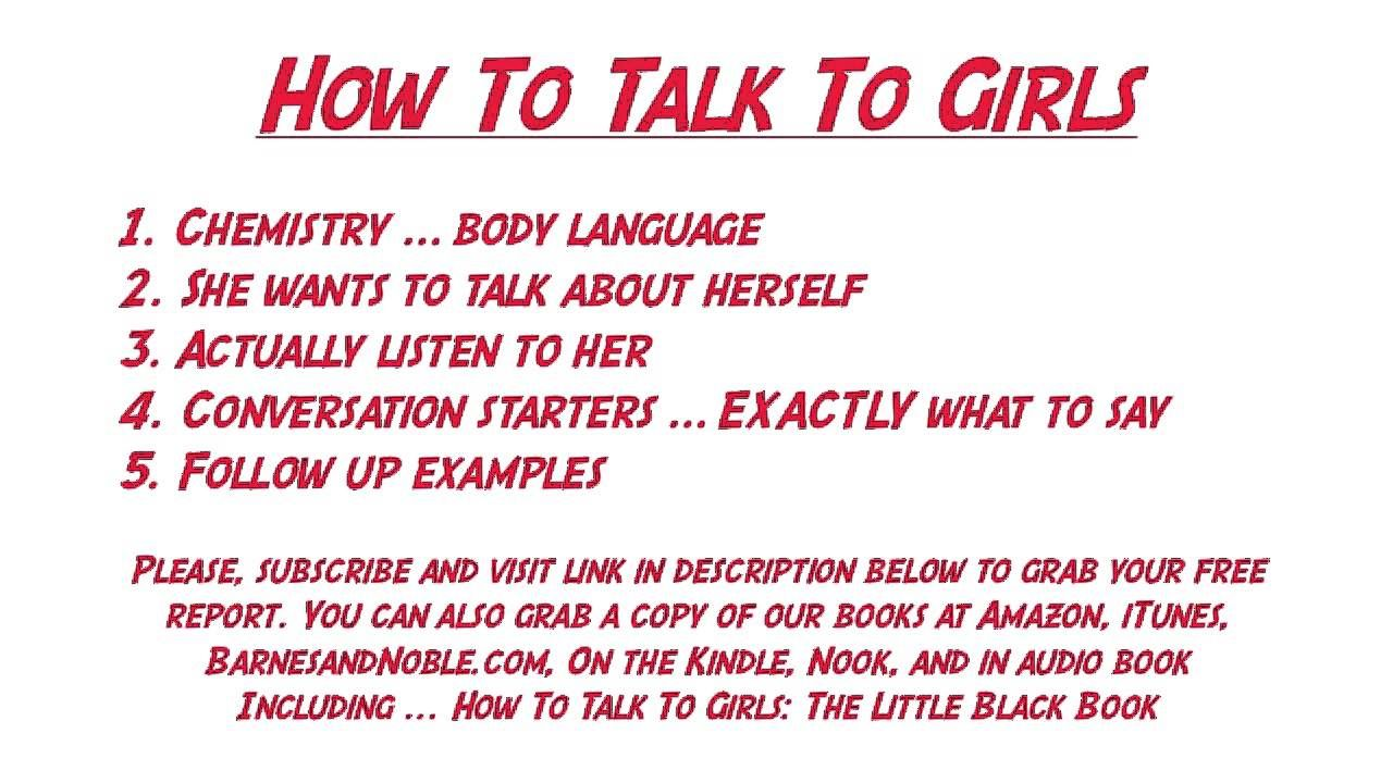 How to Keep a Conversation Going With a Girl]