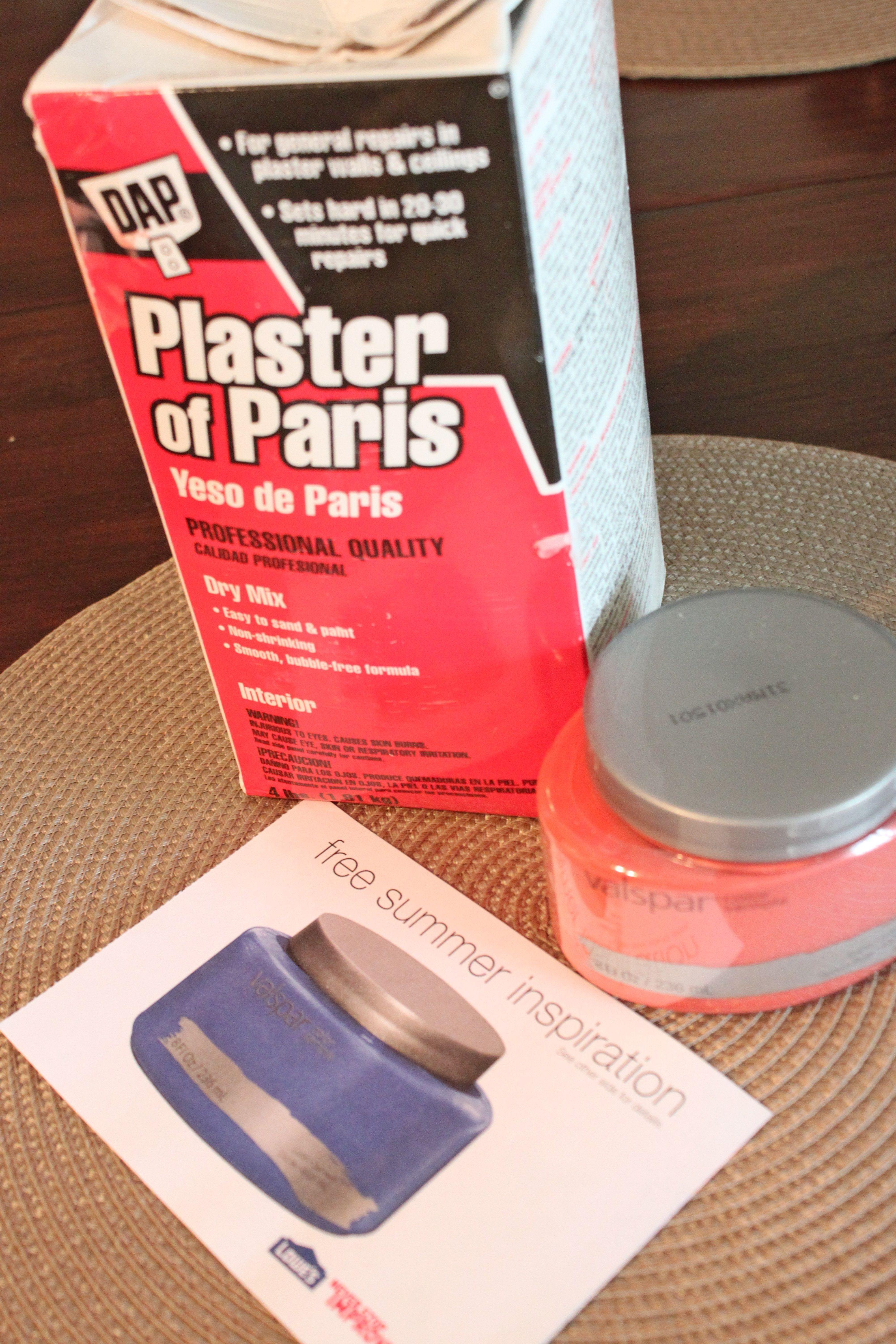 Chalk Paint Plaster Of Paris Diy Pinterest Chalk Paint - Plaster of paris chalk paint