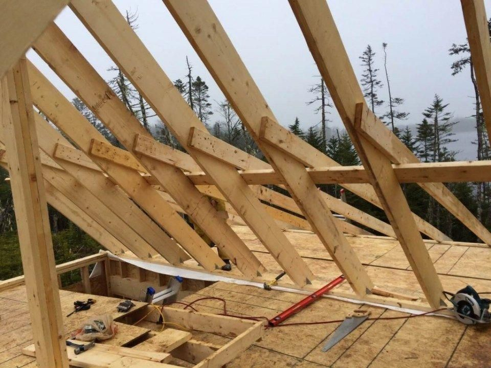 Attaching The Deck Rafters To The Purlin And Main Rafters Building A Deck Outdoor Living Deck Pergola Designs