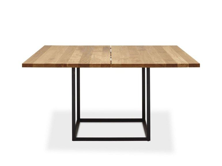 Table Extensible Carree En Chene Jewel Table Table Carree Dk3