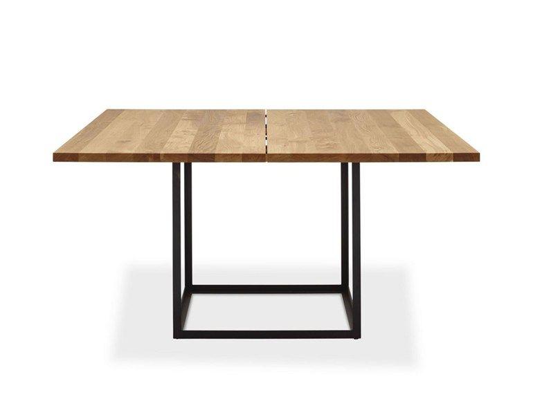 Tavolo allungabile quadrato in rovere JEWEL TABLE | Tavolo quadrato ...