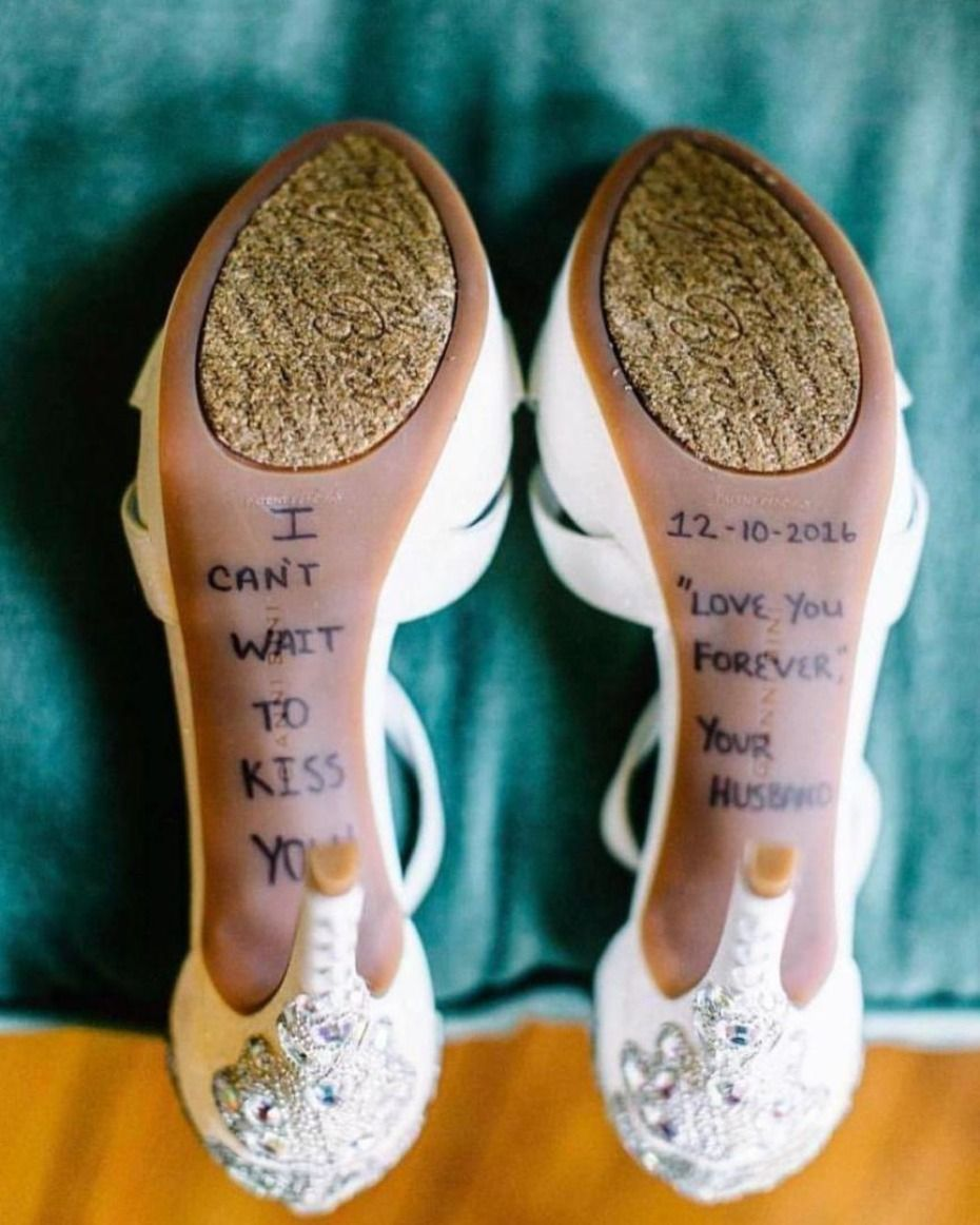 85a94424b2 6 Things to Write on the Bottom of Your S.O.'s Shoes | Everything ...