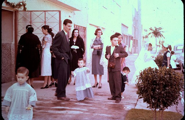 The altar boys. Slide 1957   Flickr - Photo Sharing!