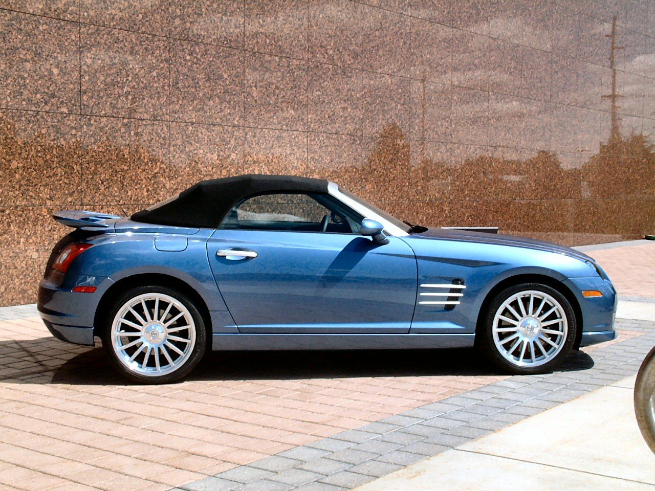 convertible crossfire chrysler pin corp sport roadster and
