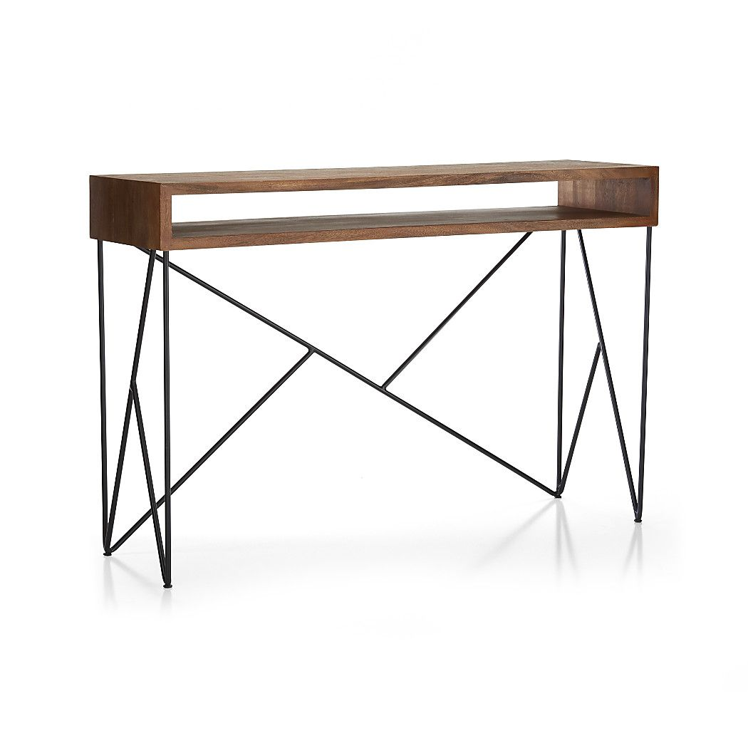 Dixon Console Table   Crate And Barrel