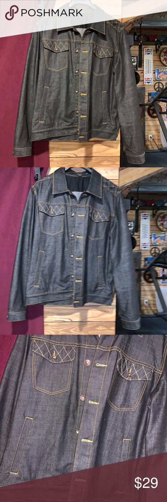 Sean John Denim Jean Jacket Size Xxl Denim Jean Jacket Jean Jacket Denim Jeans [ 1740 x 580 Pixel ]