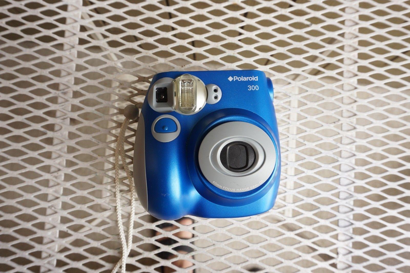 c22e364f6f A+ Polaroid 300 3.2MP Digital Camera Blue Instant Film Wedding Photo Booth  Party