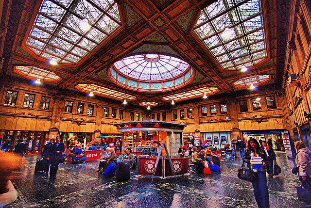 Waverley Train Station Edinburgh Edinburgh Perth Scotland Visit Scotland