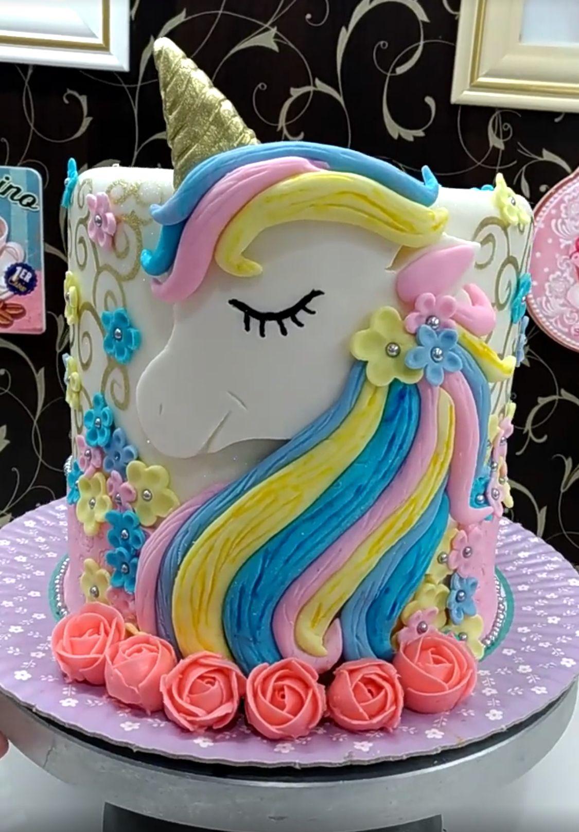 Unicorn Cake Cake Birthday Cake Party Cakes
