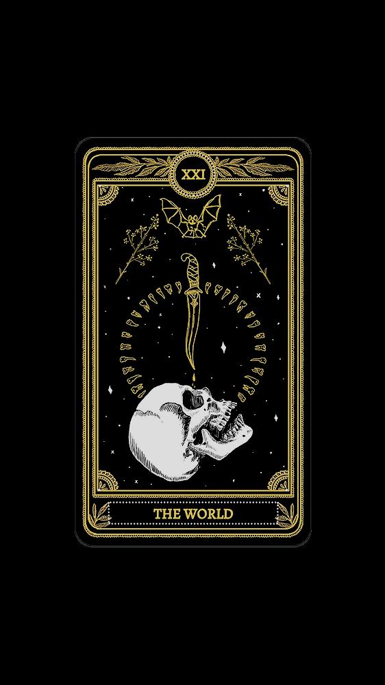 Moved To Goldscreensx Tarot Cards Lockscreens Art Credit Tarot Cards Art Scary Wallpaper Card Drawing
