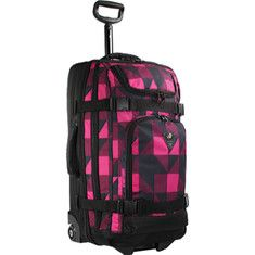 J World Carry-on Rolling Travel Case - Block Pink