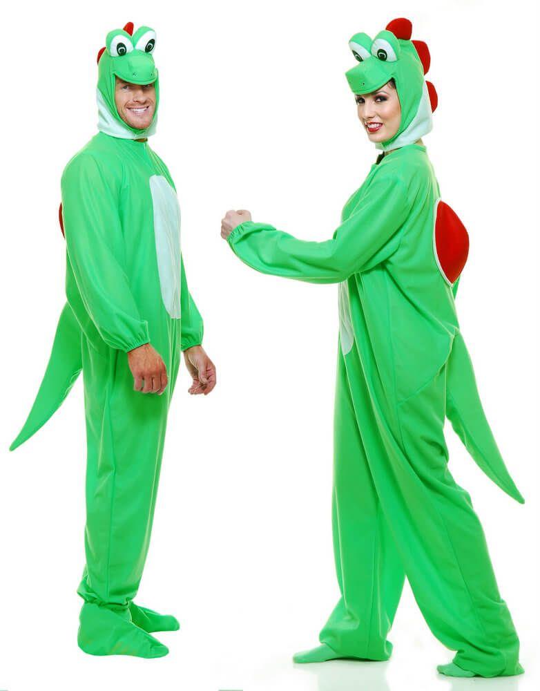 Adult Green Yoshimoto Dragon Costume - Candy Apple Costumes ...