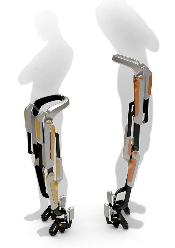 The 7-Miles Orthosis System Brings Ease and Efficiency to Travel on Foot #robots