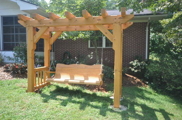 Woodworking Arbor swing frame plans Plans PDF Download ...