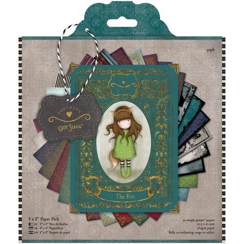 Gorjuss - 8 x 8 Paper Pack - Gorjuss
