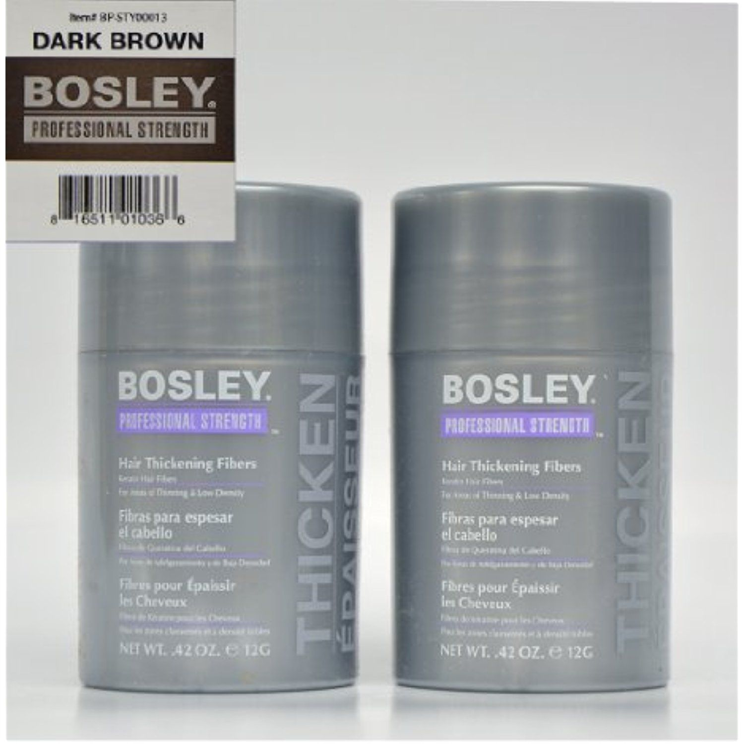 Bosley Thickening Keratin Dark Brown Hair Fibers 2 Count You Can Get Additional Details At The Image Lin Hair Thickening Hair Thickening Fibers Hair Fibers