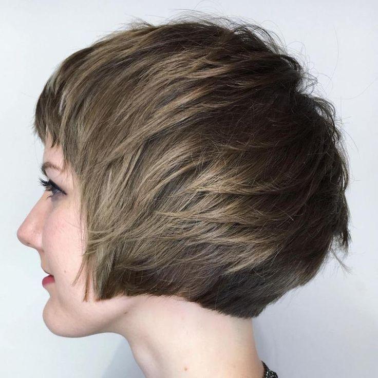 70 Overwhelming Ideas For Short Choppy Haircuts Abgehackte Frisuren Haarfarben Pagenschnitt Stylen