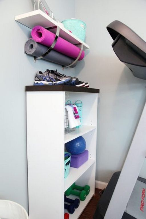 30 Simple Gym Room Ideas For Small Spaces Gym Room Small Spaces