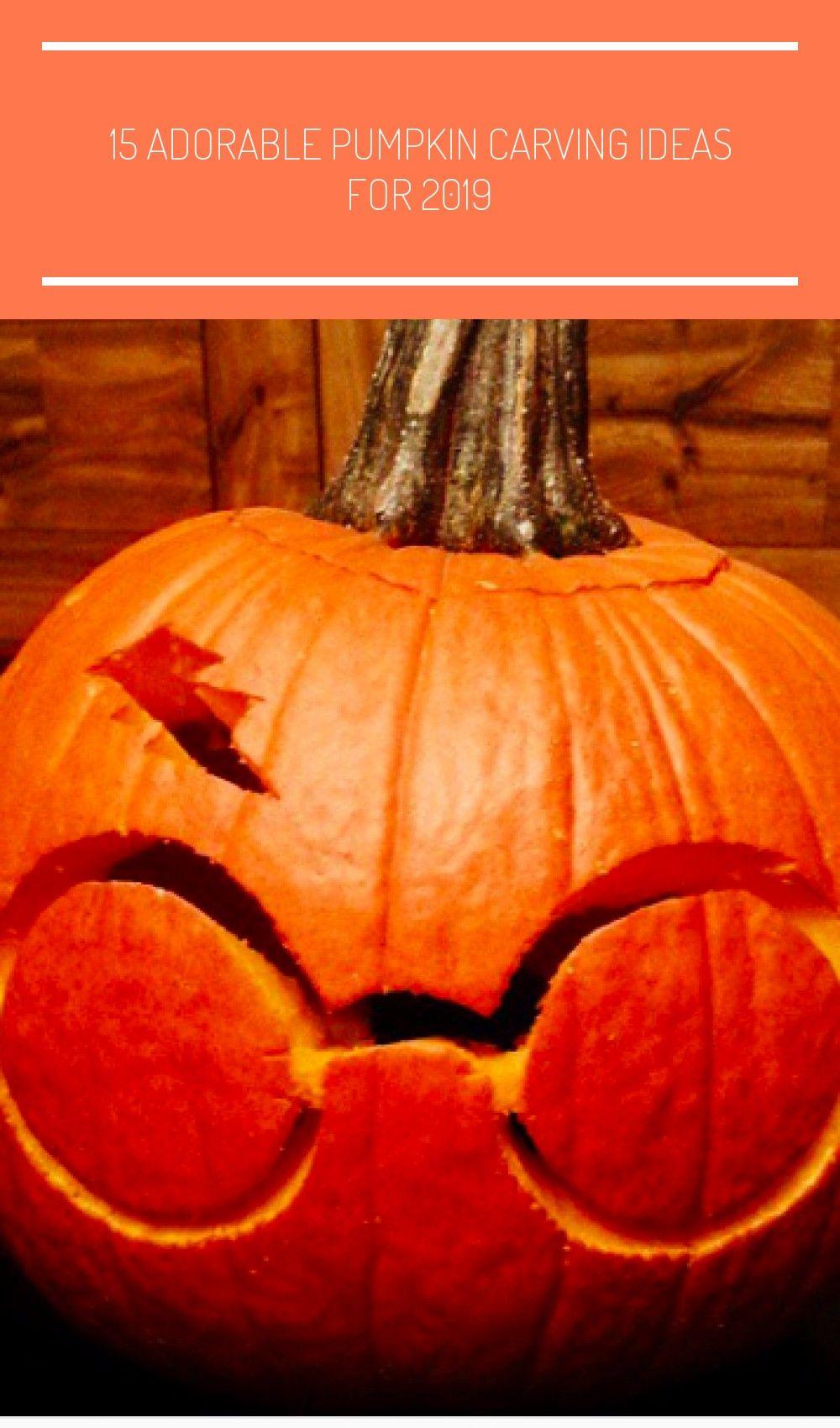 15 Adorable Pumpkin Carving Id #pumpkincarvingideastemplatesfree...