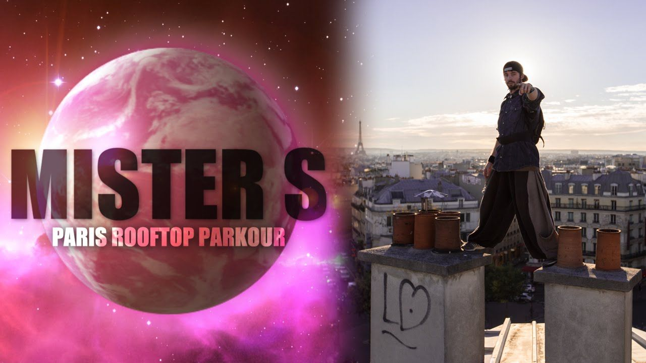 PARIS ROOFTOP PARKOUR with Yoann Zephyr Leroux 3F FRENCH FREERUN FAMILY