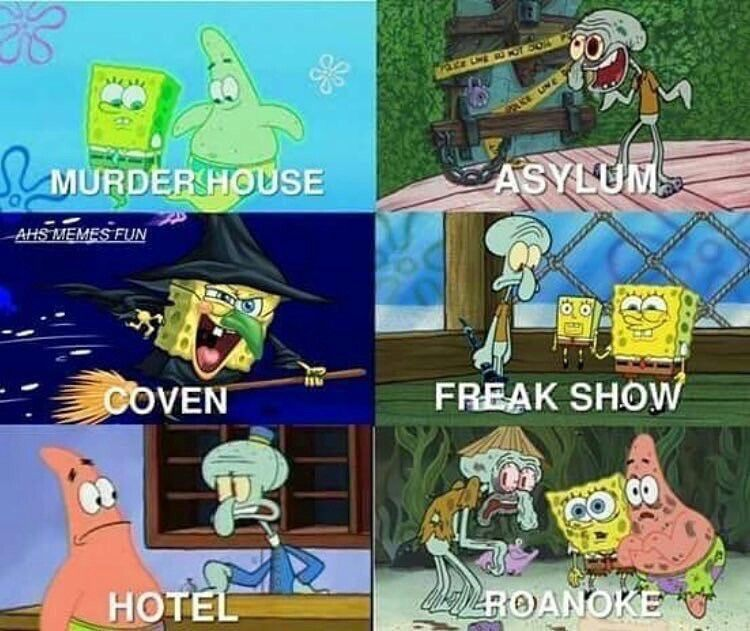 American Horror Story :-)