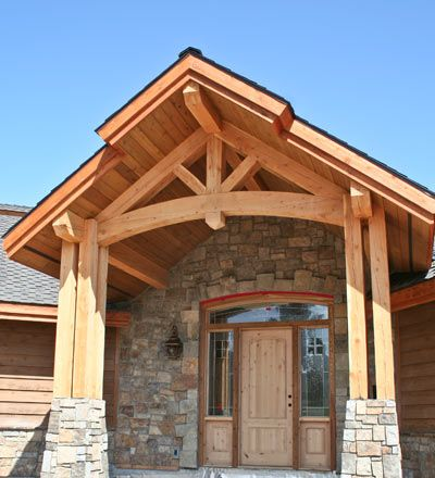 Timberframe Trusses Entries Post And Beam Accents Timber