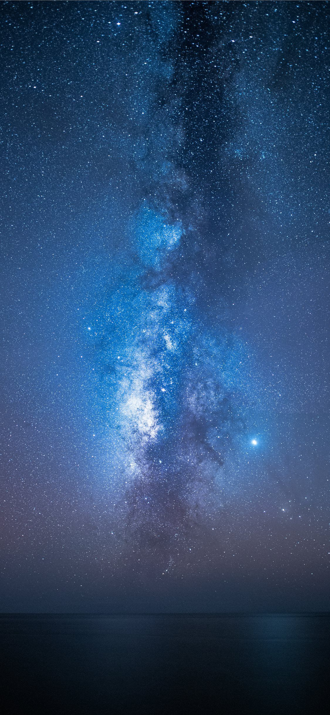 View Of Milkyway Night Sky Wallpaper Galaxy Wallpaper Scenery Wallpaper