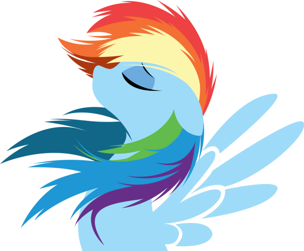 Rainbow Dash By Rariedash On Deviantart Rainbow Dash Pony Drawing Pony