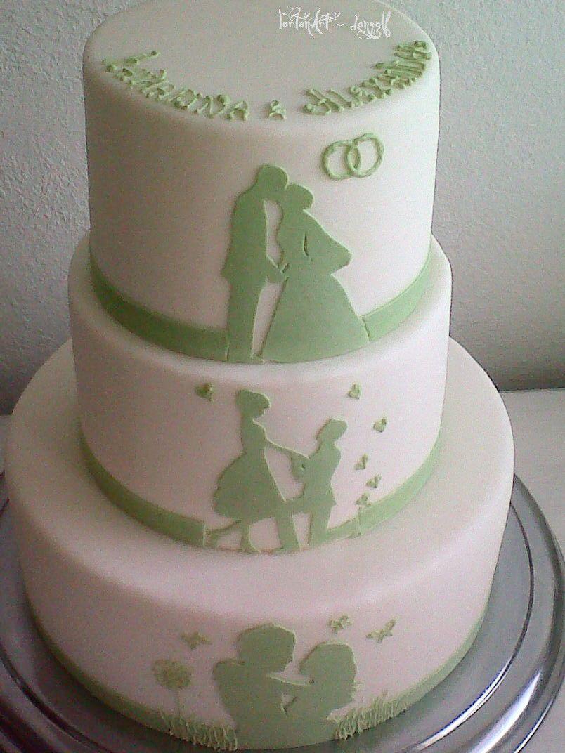 Verliebt verlobt verheiratet Torte Meine Torten