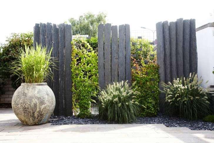 Ein Zaun aus Stein mal ganz anders Natursteine garten