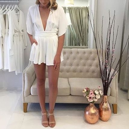 One of our favourite pieces for Spring!  The Bec & Bridge Bon Bon Playsuit we have 1 size 10 left in both the white and fire. RG via @cocoandlola  We also have 50% OFF ALL KNITS COATS & JACKETS! conditions apply  #becandbridge @becandbridge #wiw #wiwt #playsuit #lookbookboutique #boutique #ootd #ootn #online #sale