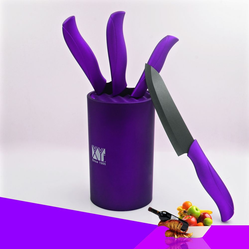 Us 2861 xyj brand 6 inch stand best ceramic knife