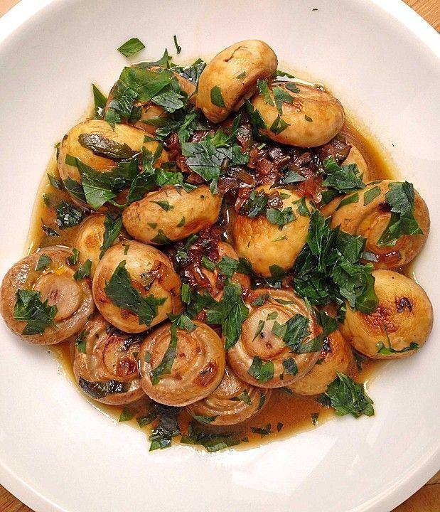 Garlic mushrooms from nayru | chef -  Garlic mushrooms (recipe with picture) by nayru |   -